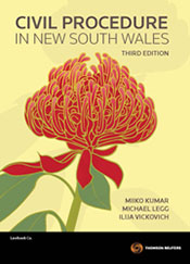 Civil Procedure in New South Wales 3e