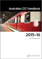 Australian GST Handbook 2015-16 (Book)