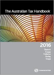 Australian Tax Handbook 2016