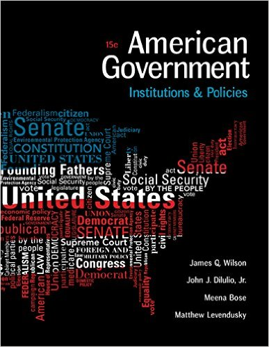 American Government: Institutions and Policies (I Vote for MindTap)
