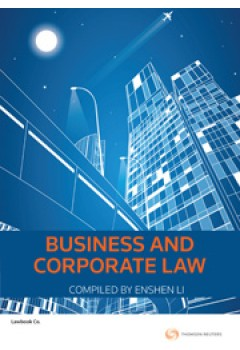 Business and Corporate Law for UQ