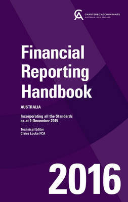 Financial Reporting Handbook 2016 Australia + E-text Card