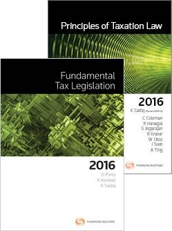 Tax Kit 2 2016 ( Principles of Taxation Law 2016 + Fundamental Tax Legislation 2016)