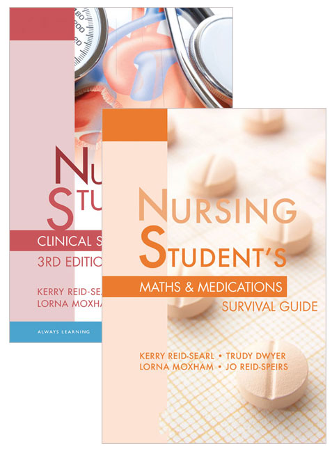 Value Pack Nursing Student's Clinical Survival Guide + Nursing Student's Maths & Medications Survival Guide (3e)