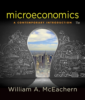 Microeconomics: A Contemporary Intoduction + Aplia Notification Card Bundle ECON111