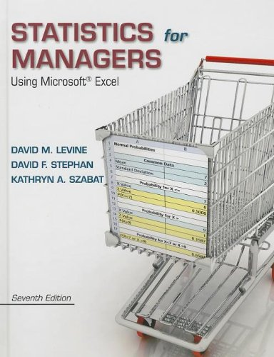Statistics For Managers Using Microsoft Excel Ise + Math Xl Access Card 6ed