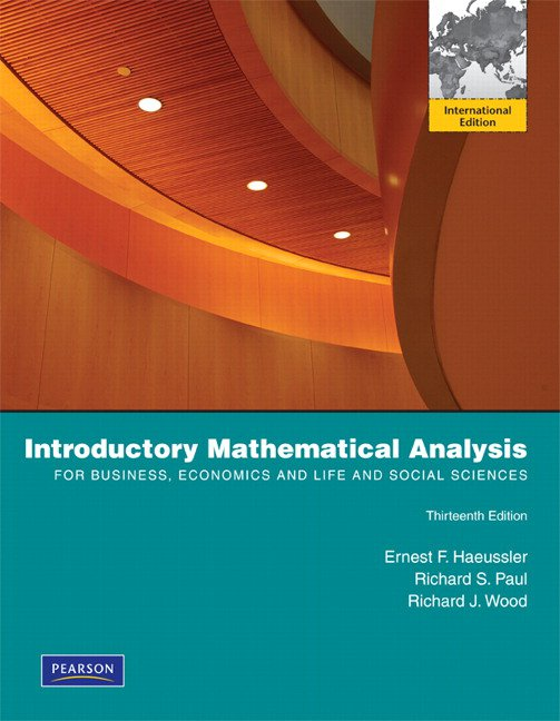 Introductory Mathematical Analysis + Student Solutions