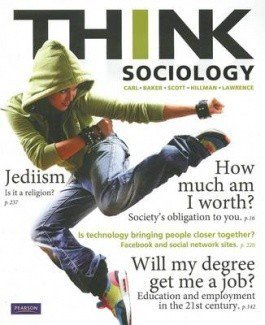 Think Sociology + Mysoclab (with new copies only)