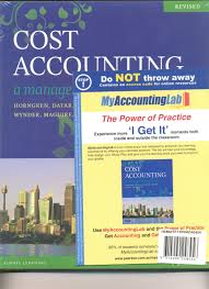 Cost Accounting text + Student Solutions Manual + Access code (Value Pack)