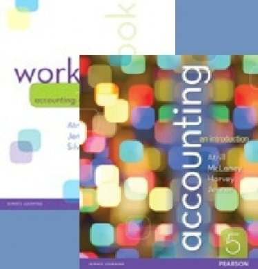 Accounting: An Introduction + Workbook + MyAccounting Lab with Ebook (new copies only)