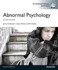 Abnormal Psychology + Mypsychlab