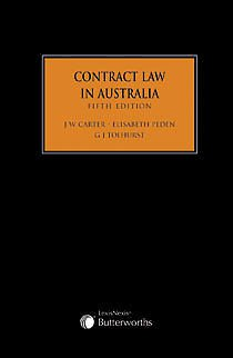 Cases & Materials on Contract Law in Australia + Contract Law in Australia