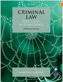 Criminal Law : Texts & Cases (11e09) + Criminal Law For Common Law States - Butterworths Q & A (crimn07 Package)