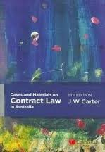 CONTR31 Cases & Materials of Contract Law in Australia + Contract Law in Australia
