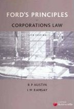 Ford's Principles of Corporations Law 15e + Corporations & Associations: Cases and Materials 10e Austin & Ramsay + Baxt
