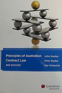 Principles of Australian Contract Law 2e + Principles of Australian Contract Law Cases & Materials 2e + LexisNexis Quest