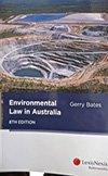 Environmental Law In Australia 8th ed eBundle
