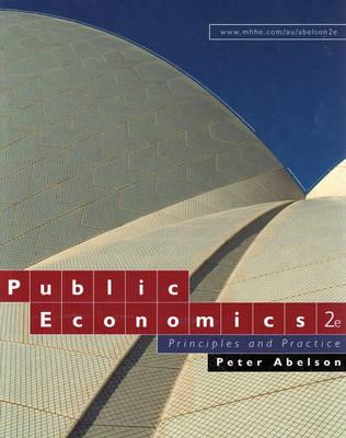 Public Economics: Principles and Practice