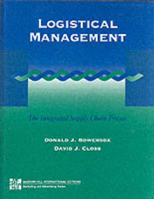 Logistical Managements: The Integrated Supply Chain Process