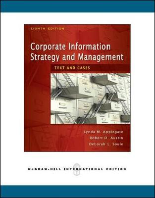 Corporate Information Strategy N Mgmt 8E