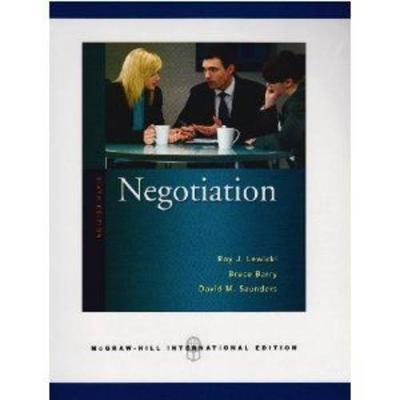 Negotiation 6E