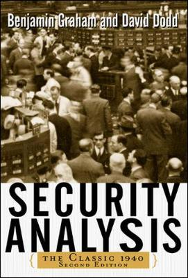 Security Analysis:  The  Classic 1940 Edition, 2/E
