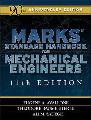 Mark's Standard Handbook For Mechanical Engr. 11/E