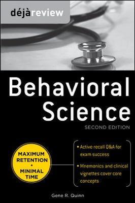 Deja Review Behavioral Science 2/E
