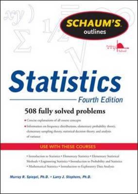 Schaums Outline of Statistics