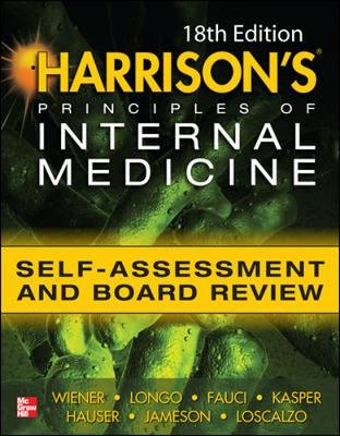 Harrisons Principles Of Internal Medicine Self-Assessment And Board Review 18/E