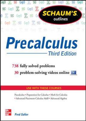 Schaums Outline Of Precalculus 3/E