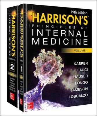 Harrisons Principles Of Internal Medicine 19/E (Set)