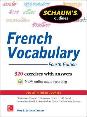 Schaums Outline of French Vocabulary 4/E