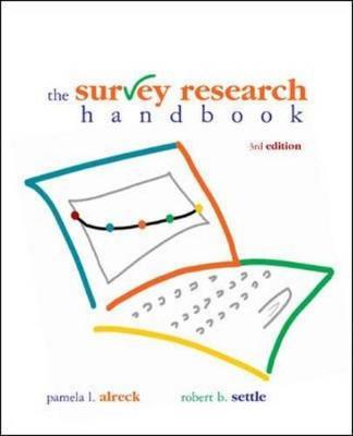 Survey Research Handbook (Paperback)