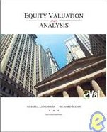Equity Valuation and Analysis W/ Eval