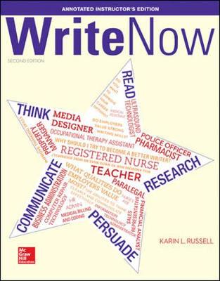 Write Now Annotated Instructor's Edition