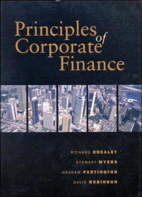 Principles of Corporate Finance: Australian Edition