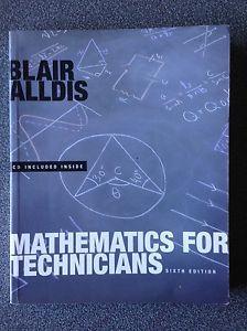 Maths for Technicians