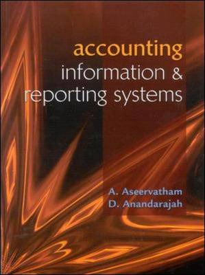 Accounting Information and Reporting Systems