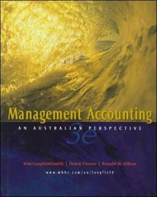 Management Accounting: An Australian Perspective