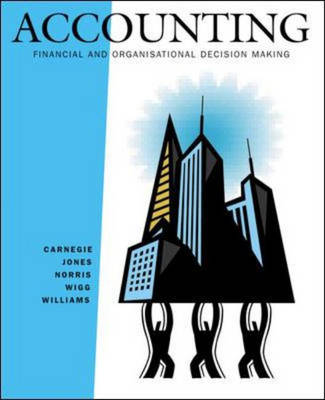 Accounting: Financial and Organisational Decision Making with Maxmark