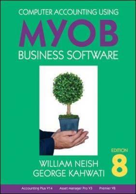 Computer Accounting Using MYOB Business Software