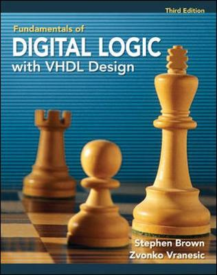 Mp Fundamentals Of Digital Logic With Vhdl Design With Cr-Rom