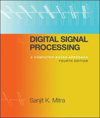 Mp Digital Signal Processing With Student Cd Rom