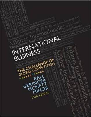 International Business: The Challenge Global Competition W/ Cesim Access Card