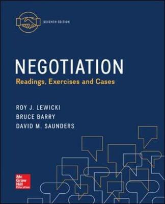 Negotiation: Readings, Exercises, and Cases 7th Edition