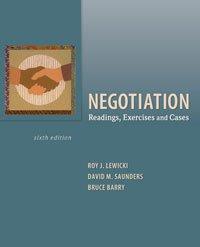 Combo Negotiation + Readings