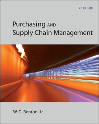 PURCHASING and SUPPLY CHAIN MGMT