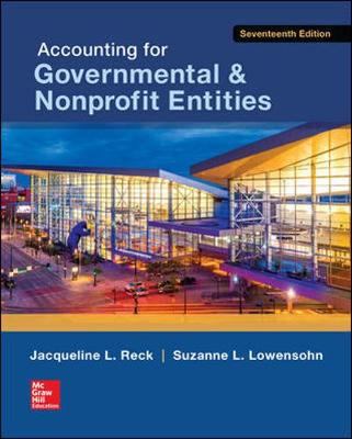 ACCTG FOR GOVERNMENTAL and NONPROFIT ENTITIES