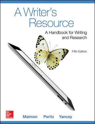 A Writer Resource (Comb-Version) Student Edition